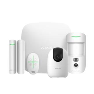 Ajax Systems StarterKit Cam met AI Camera Wit