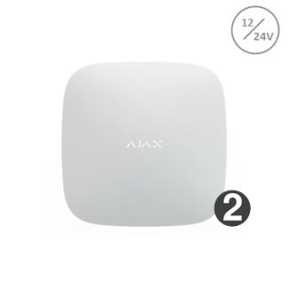 Ajax Systems Hub 2 wit 12/24volt