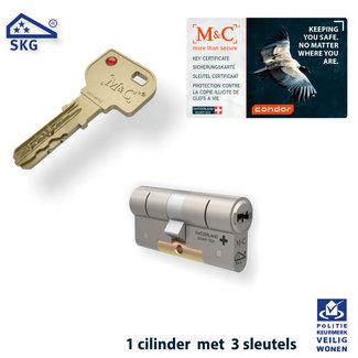M&C 1 x Condor Cilinder SKG*** met CERTIFICAAT