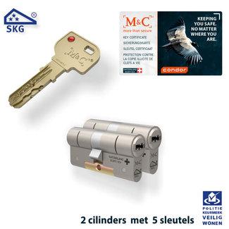 M&C 2 x Condor Cilinder SKG*** met CERTIFICAAT