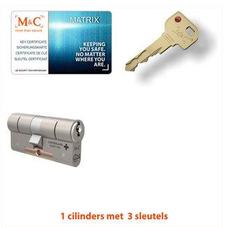 M&C 1 x Matrix Cilinder SKG*** met CERTIFICAAT