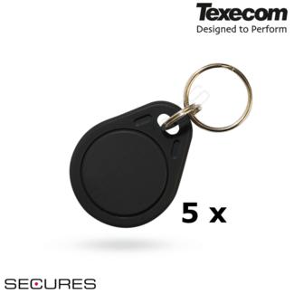 Texecom 5 x Proximity Keytag Secures