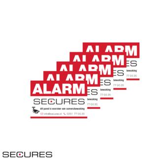 Raamstickers Alarmsysteem
