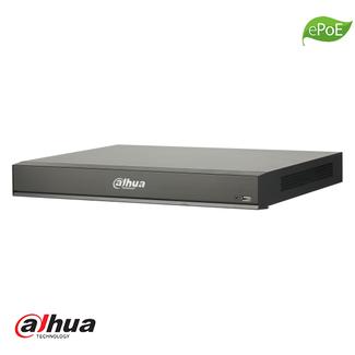 Dahua 8 kanaals 1U 8x PoE AI WizSense Network Video Recorder incl 2TB HDD