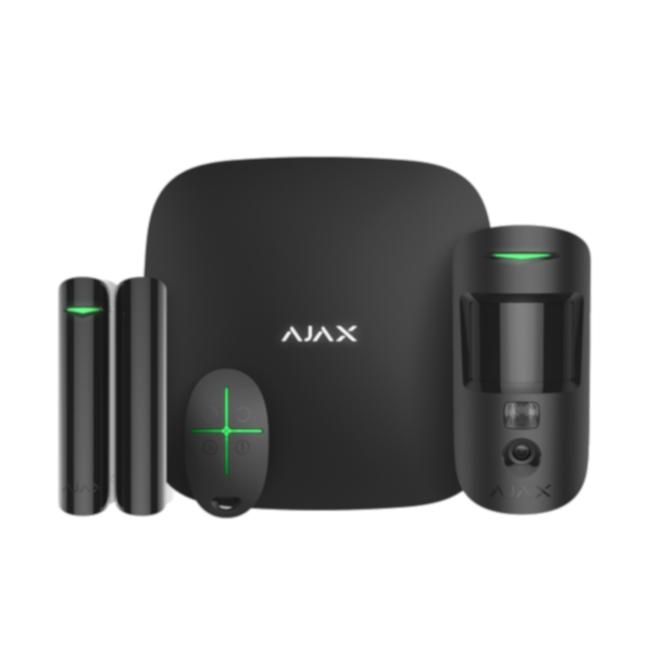 Ajax Systems StarterKit 2 Plus Cam Zwart