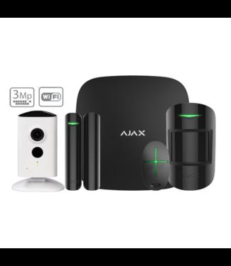 Ajax StarterKit met WiFi Camera Zwart