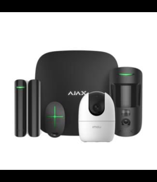 Ajax StarterKit 2 Cam met AI Camera Zwart