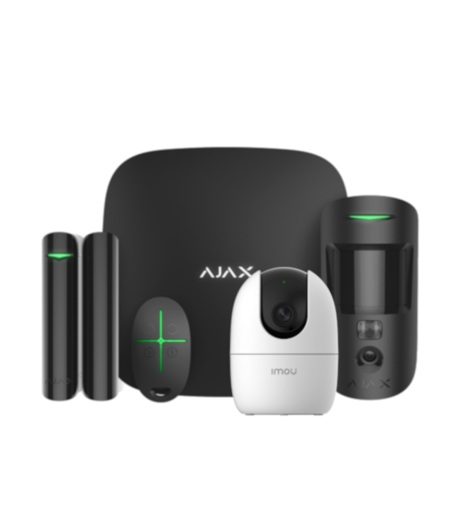 Ajax StarterKit Cam met AI Camera Zwart