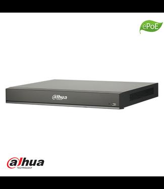 Dahua 16 kanaals 1U AI WizSense Network Video Recorder incl 2TB HDD