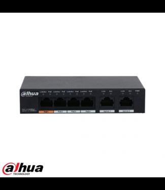 Dahua 6-Port Gigabit Switch 4-Port PoE