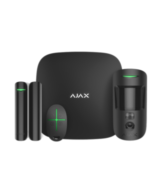 Ajax StarterKit 2 Plus Cam Zwart