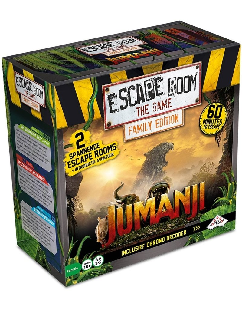 Identity Games Escape Room The Game: Jumanji Family Edition