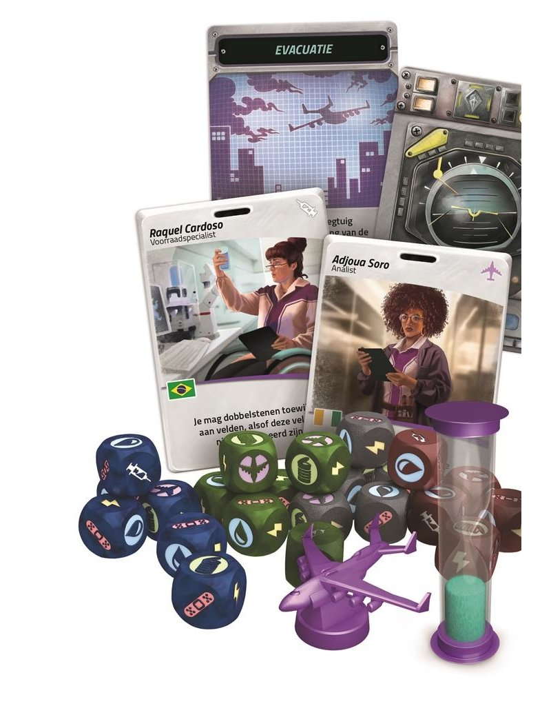 Z-Man Games Pandemic Rapid Response