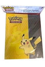 Ultra Pro Pikachu 4 Pocket Portfolio