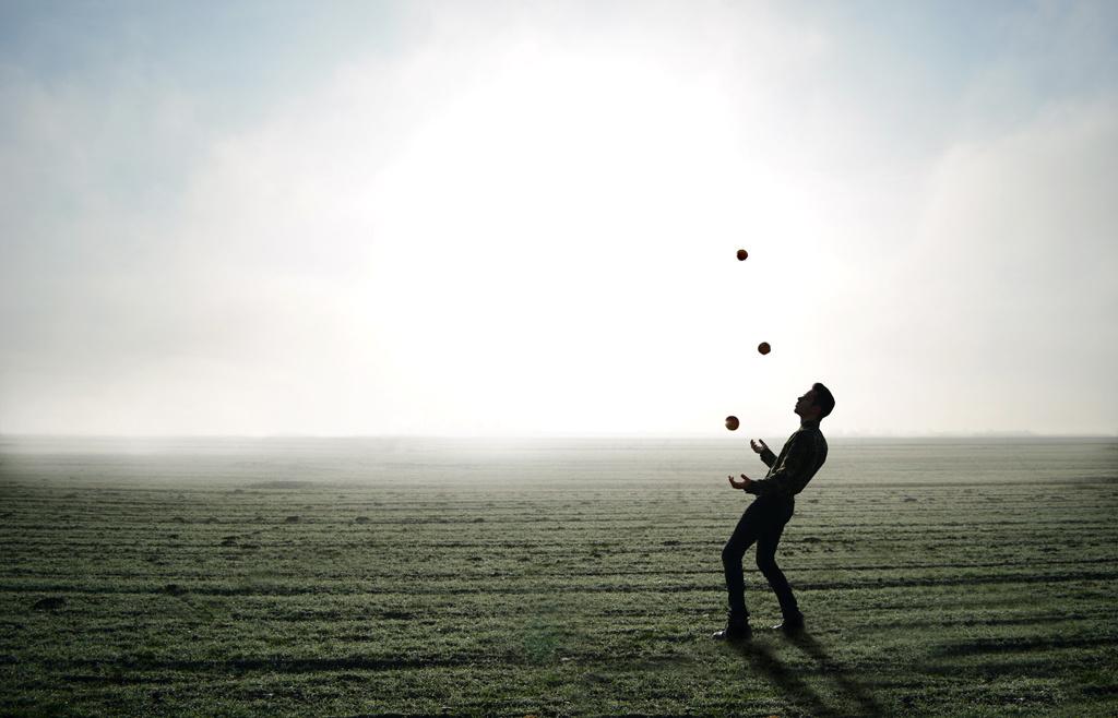 jongleur trident