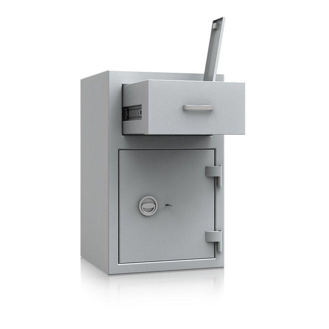 De Raat Afstortkluis DRS Prisma Deposit III/2 met dubbelbaard sleutelslot
