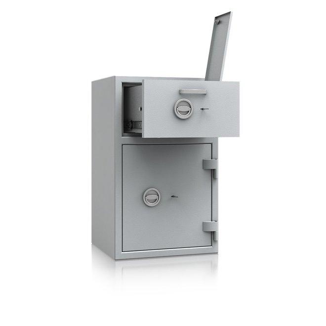 De Raat Afstortkluis DRS Prisma Deposit II-1 dubbelbaard sleutelslot