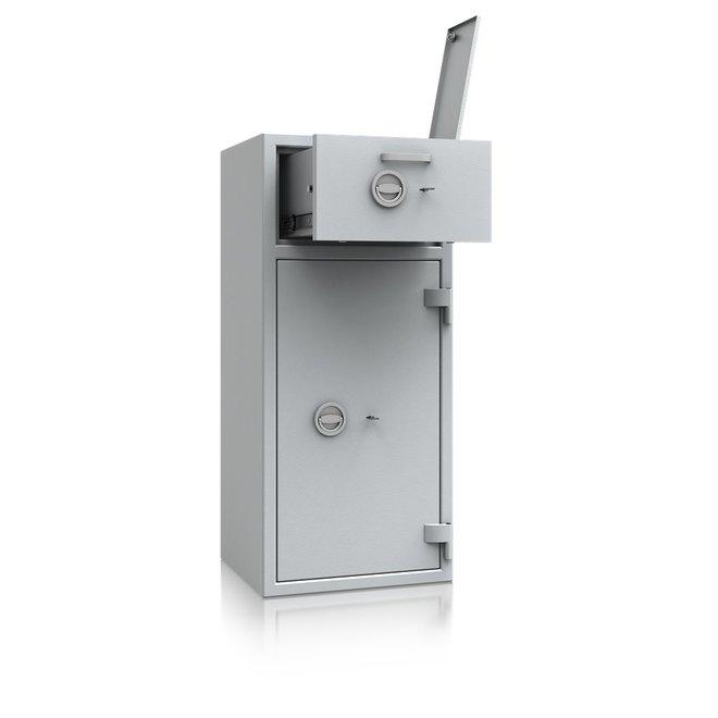 De Raat Afstortkluis DRS Prisma Deposit II-2 dubbelbaard sleutelslot