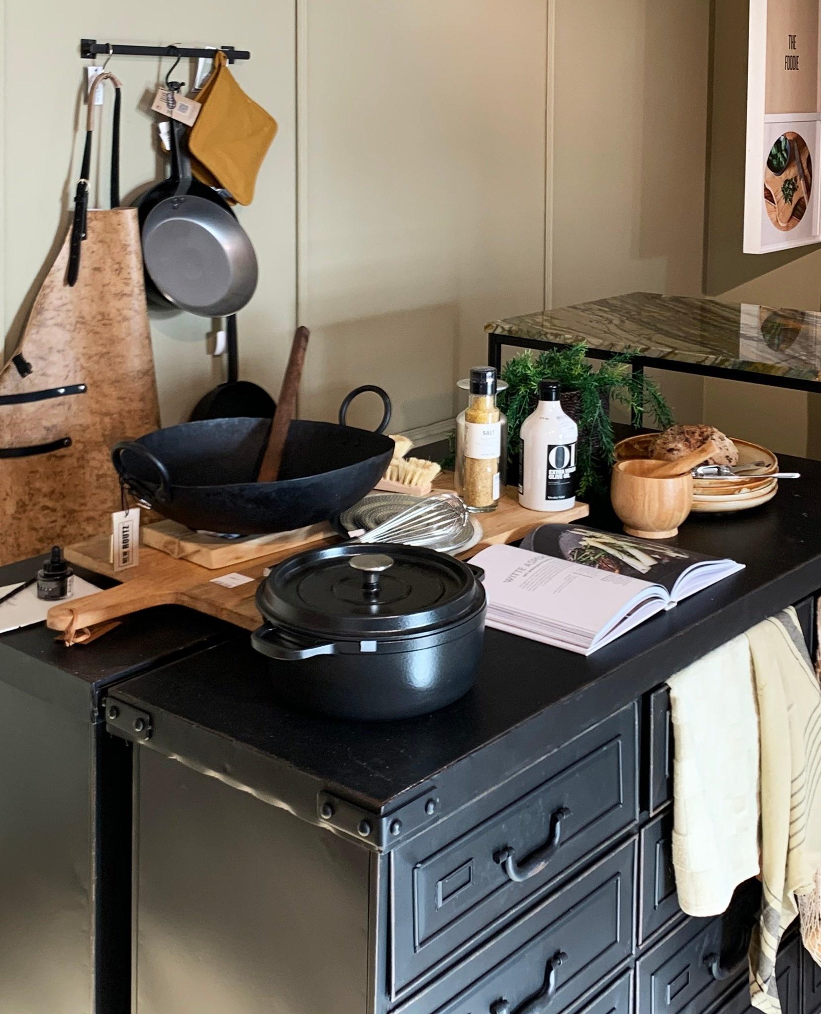 Mehr Pfiff in deiner Küche? Entscheide dich für einen coolen industriellen Stil.