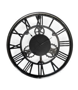 Rootsmann Industrielle Zahnrad-Uhr 61cm