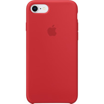 Apple Coque en silicone iPhone SE (2020) / 8 / 7 - Rouge
