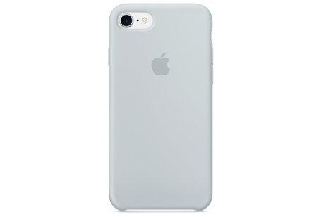 Apple Coque en silicone pour l'iPhone SE (2020) / 8 / 7 - Mist Blue