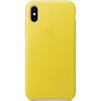 Apple Coque Leather iPhone Xs / X