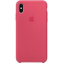 Apple Coque en silicone iPhone Xs Max - Hibiscus