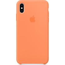 Apple Coque en silicone iPhone Xs Max - Papaya