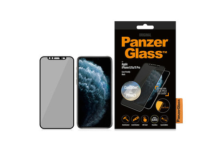 PanzerGlass Protection d'écran CamSlider™ Privacy pour l'iPhone 11 Pro / Xs / X
