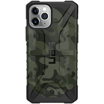 UAG Coque Pathfinder iPhone 11 Pro - Forest Camo Black
