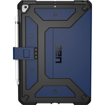 UAG Étui de tablette Metropolis iPad 10.2 (2019) - Bleu