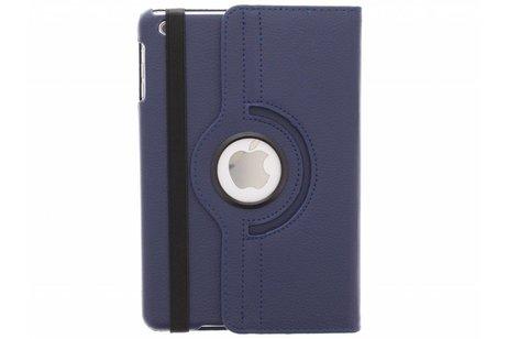 Étui de tablette portefeuille rotatif à 360° pour l'iPad Mini / 2 / 3 - Bleu