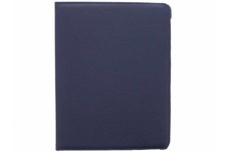 Étui de tablette portefeuille rotatif à 360° pour l'iPad 2 / 3 / 4 - Bleu