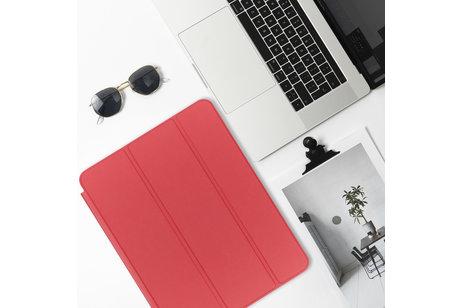 Étui de tablette portefeuille de luxe pour l'iPad Mini / 2 / 3 - Rouge