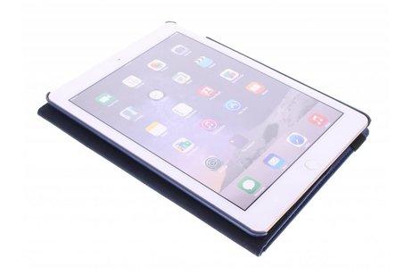 Étui de tablette portefeuille rotatif à 360° pour l'iPad Air 2 - Bleu