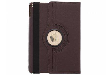 Étui de tablette portefeuille rotatif à 360° pour l'iPad Air 2 - Brun