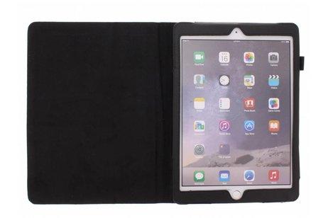 Étui de tablette portefeuille lisse pour l'iPad Air 2 - Noir