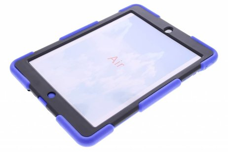 Coque Protection Army extrême pour l'iPad Air - Bleu