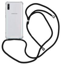 iMoshion Coque avec cordon Samsung Galaxy A70 - Noir