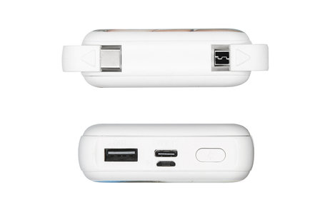 Concevez votre propre batterie externe 10.000 mAh - Blanc