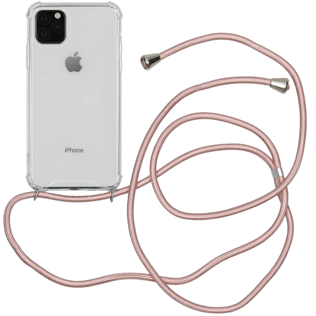 iMoshion Coque avec cordon pour l'iPhone 11 Pro Max - Rose Champagne