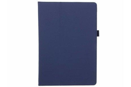 Étui de tablette portefeuille lisse Samsung Galaxy Tab A 10.1 (2016) - Bleu foncé