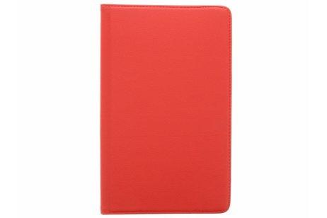 Étui de tablette portefeuille rotatif à 360° Galaxy Tab A 10.1 (2016) - Rouge