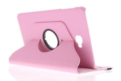 Étui de tablette portefeuille rotatif à 360° Galaxy Tab A 10.1 (2016) - Rose