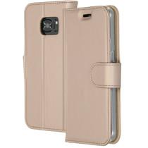 Accezz Étui de téléphone Wallet Samsung Galaxy S7 - Dorée