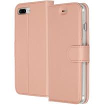 Accezz Étui de téléphone Wallet iPhone 8 Plus / 7 Plus - Rose