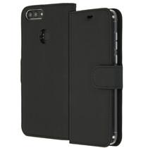 Accezz Étui de téléphone Wallet Huawei P Smart - Noir