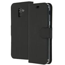 Accezz Étui de téléphone Wallet Samsung Galaxy J6 - Noir