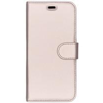 Accezz Étui de téléphone Wallet Samsung Galaxy J6 - Dorée